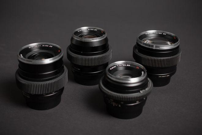 Zeiss ZE Prime Lens Set (25,35,50,85)