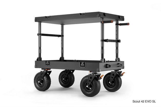 Inovativ Scout 42 EVO SL Cart + trough + laptop mount