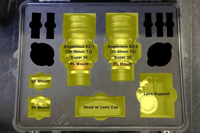 Angenieux EZ-1 & EZ-2 S35 Package (15-40mm T2 & 30-90mm T2)