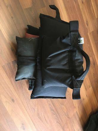 (4) American Grip / Matthews 15 LBS Sandbags