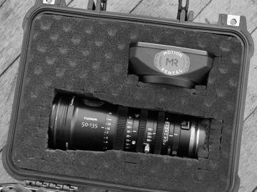 Rent: Fujinon MK50-135mm T2.9 Lens (Sony E-Mount)