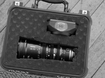 Rent: Fujinon MK18-55mm T2.9 Lens (Sony E-Mount)