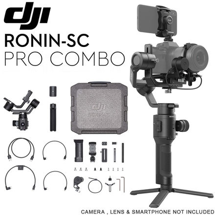 DJI Ronin-SC Pro with Follow Focus Motor & Wheel.