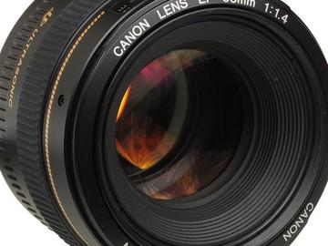 Canon 50 f/1.4