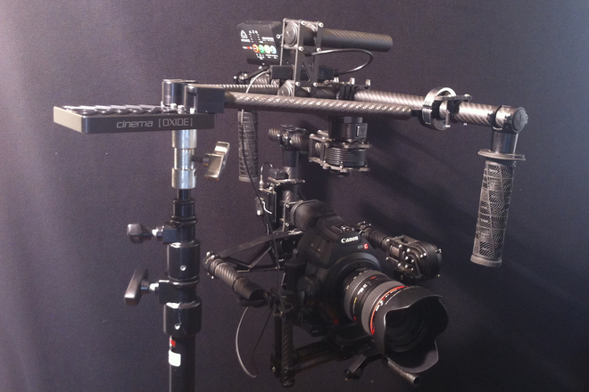 MoVI M10 Kit; 2 Monitors, Paralinx Wireless; CStand & Mount