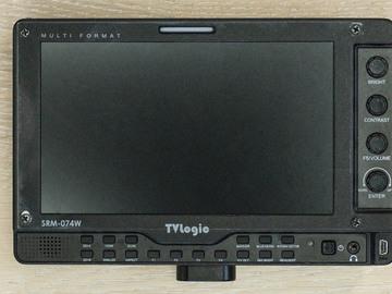 """Rent: 7"""" SRM TVLogic Monitor Kit"""