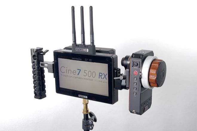 SmallHD Cine 7  Bolt 500 RX + TX + Nucleus-M Wireless Focus