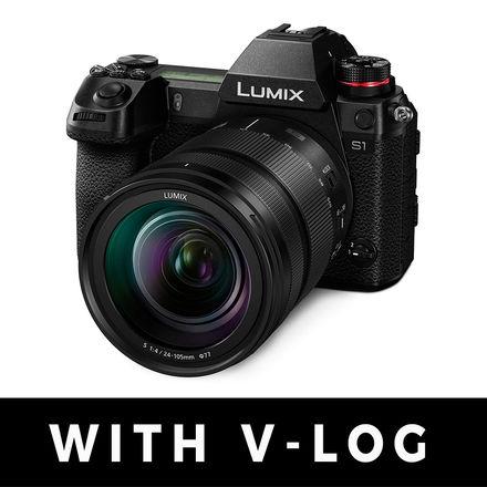 Panasonic Lumix S1 WITH V-LOG and 24-105 f/4 Bundle