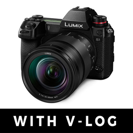 Panasonic Lumix S1 WITH V-LOG and 24-105 f/4 Bundle