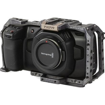 BM Design Pocket Cinema Camera 4K W/ Cage & Metabones