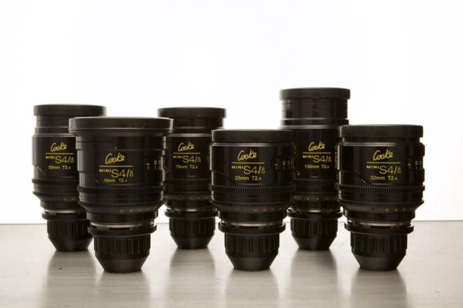 (4) Cooke Mini S4/i Lens Set