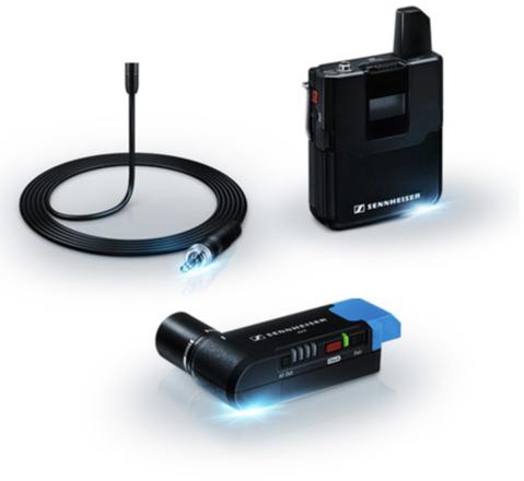 Sennheiser AVX Lavalier Wireless Set (MKE2 Lavalier)