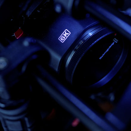 Blackmagic Pocket 6K rig with 1TB SSD and Extended Batteries