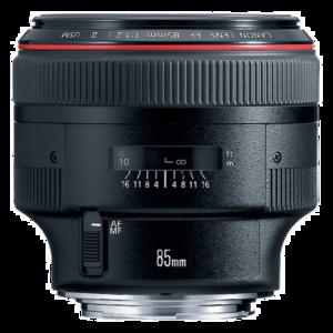 Canon EF L 85mm F/1.2 II USM
