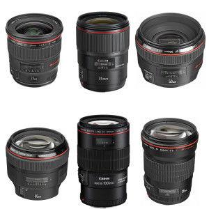 Canon L Series 6 Lens Kit