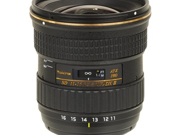 Rent: Tokina 11-16mm f/2.8 Wide Lens for Canon DSLR