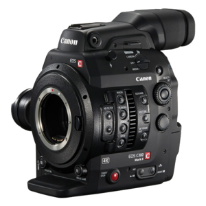 Canon C300 MKII Package