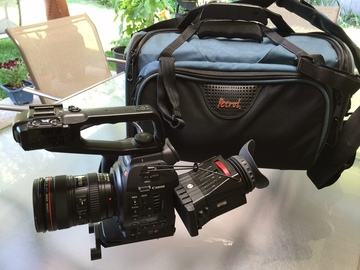 Rent: Canon C100 w/ Dual Pixel CMOS AF cinema package