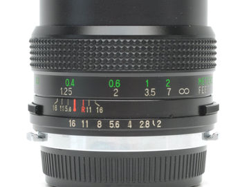 Vivitar 28mm f2.0 MC Lens for Olympus + Adapter Canon EOS