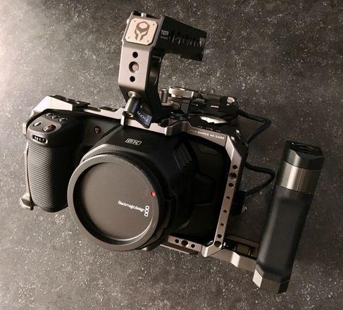 Blackmagic Design Pocket Cinema Camera 6K cage kit