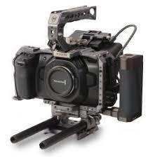 Blackmagic Pocket 4K, tilta cage, ssd, v mount