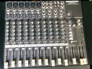 Rent: Mixer Console Mackie 1402VLZPRO 14-ch.