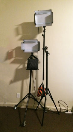 LimoStudio LE500ACC LED and stand with wheels