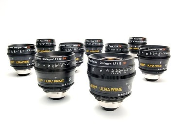 Rent: Zeiss Ultra Prime 5 Lens Set