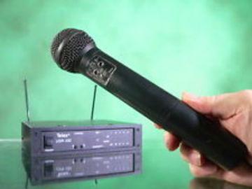 Rent: Wireless Combo Lav, Handheld Telex USR-100 UHF Diversity