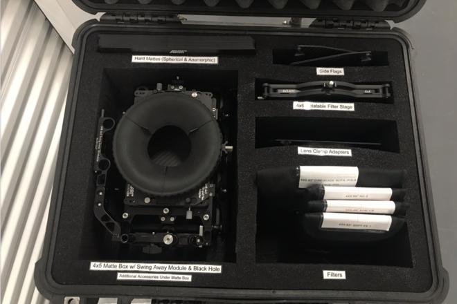 ARRI LMB 4x5 Mattebox Pro Set w/ Free Filters