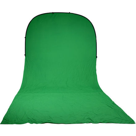 Portable Green Screen Background 8x16'