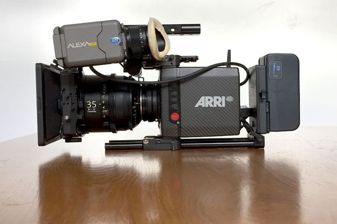 ARRI Alexa Mini Kit. W Licenses PL or EF mount