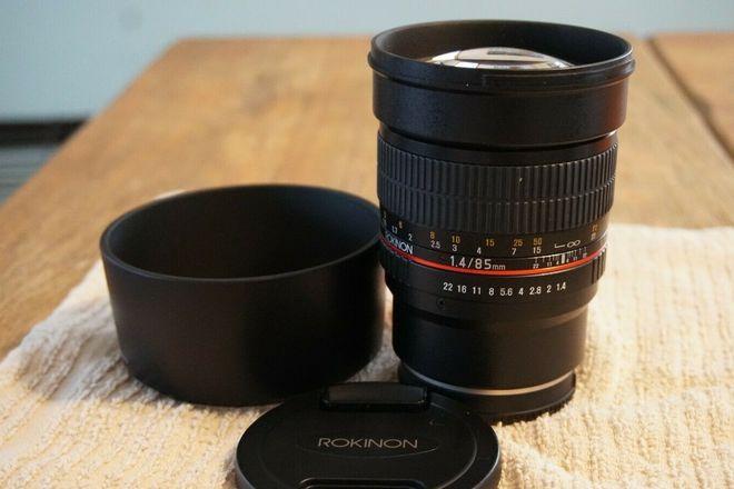 Rokinon 85M-FX 85mm F1.4 for Fujifilm