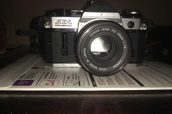 Canon Canon AE-1 50mm film camera