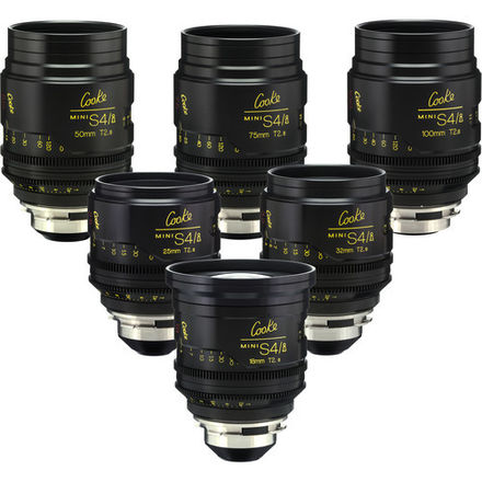 Cooke Mini S4/i Set 18, 25, 32, 50, 75, 100