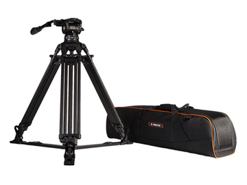 Rent: 100mm Bowl Fluid Head Tripod with 2 Stage Legs