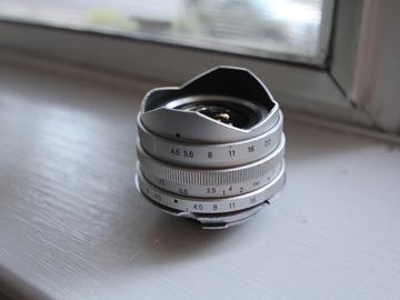 Rent: Voigtlander 15mm F4.5 Leica M Rangefinder Lens