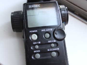 Rent: Sekonic L-558 Cine Lightmeter