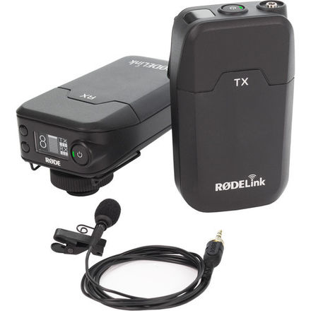 RODELink Filmmaker Kit - 2.4Ghz Wireless Lavalier Microphone