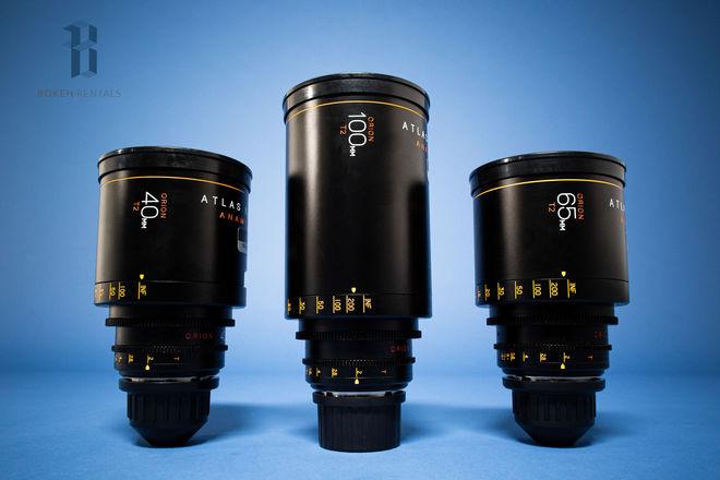 Atlas Orion Anamorphic Lens A Set (40, 65, 100mm T2) Pick 1!