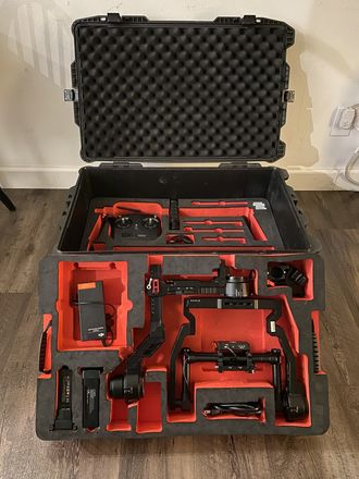 Ready Rig w/ ProArms  + DJI Ronin 1 w/ Pan & Arm Extensions
