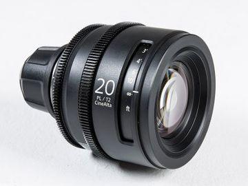 Rent: Sony CineAlta 20mm PL/T2 PL Mount Prime Lens