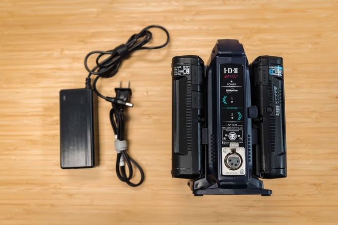 IDX 2 96Wh V Mount Batteries with Dual Charger