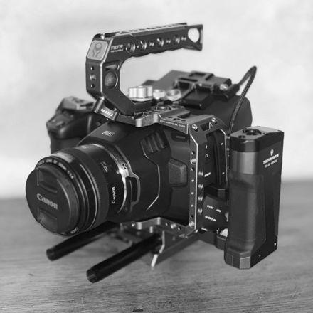 Blackmagic Pocket 6K with ssd, 24-105 lens, v mount etc