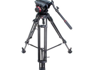 Rent:  Manfrotto 504 HD Tripod