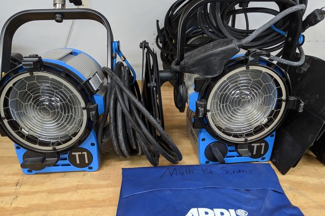 ARRI Tungsten 3 Light Kit