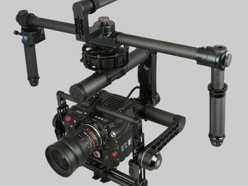 Rent: Turbo Ace Allsteady 7 3 Axis Gimbal - 20lb payload