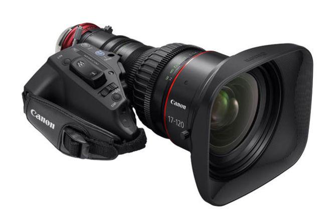 Canon 17-120 F2.8 Cine Servo Lens EF or PL mount