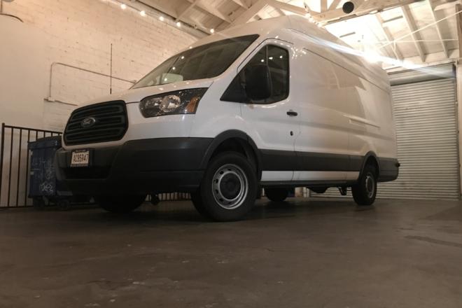 3 Ton G&E pkg. Ford Transit extended/high roof