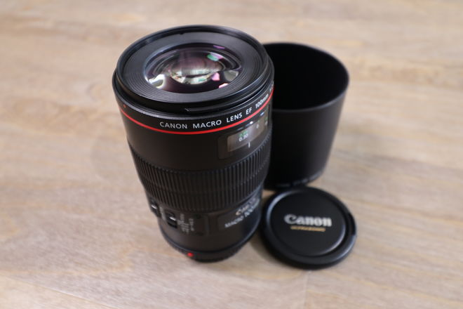 Canon EF 100mm f/2.8 L IS Macro USM — Serviced & Perfect!